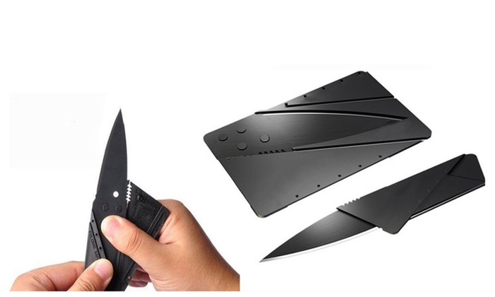 Perfect Knive Set Credit Card Sized