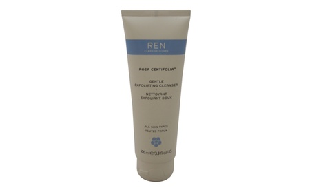 Rosa Centifolia Gentle Exfoliating Cleanser by REN for Unisex - 3.3 oz 45696452-8aeb-4273-a8f7-728a1d8289af