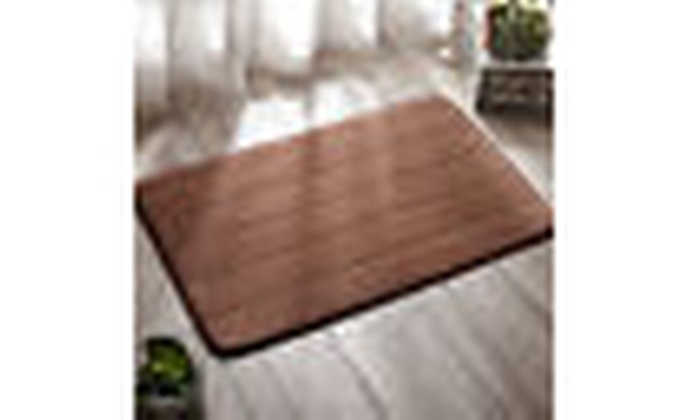 "24/"" x 60/"" Non-slip Back Rug Soft Bathroom Carpet Memory Foam Bath Mat 4 Color"