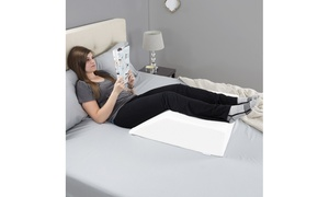 Bluestone Wedge Pillow for Leg, Knee, Back, Hip, and Joint Pain
