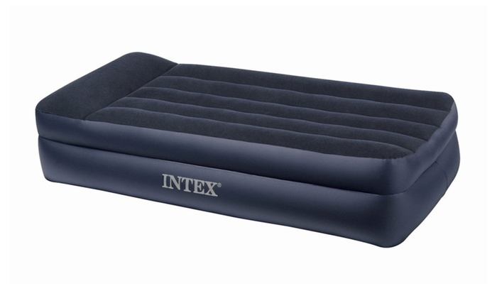 Intex Twin Air Mattress With Built In Pump And Pillow