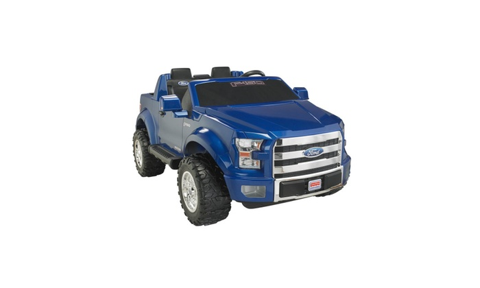 Power Wheels Ford F 150 12 Volt Battery Powered Ride On