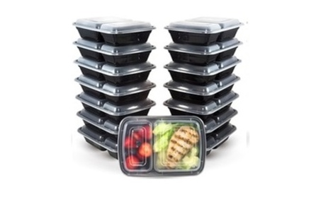 16 Pc Reusable Food Storage Containers Meal Prep Fitness with lids photo