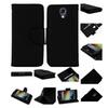 Insten Black Leather Card Holder Wallet Case For Lg Ls740 Volt F90