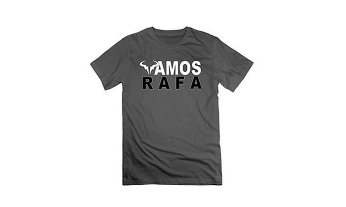 Man Rafael Nadal Rafa Vamos Logo T Shirts Groupon