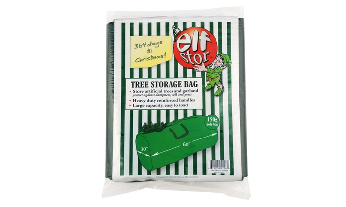 Elf Stor Premium Christmas Tree Storage Bag For Up To 9 Foot Tree
