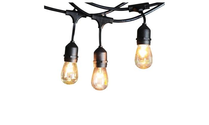 String Lights Vistaprint : Shine Hai 48-Foot Outdoor String Lights Groupon