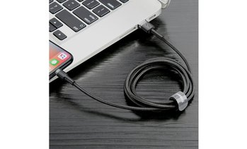 USB Data Nylon Cable 2.4A Fast Charger Heavy Duty Braided For iPhone/iPad/iPod