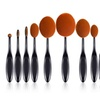 Professional 10-Piece Oval Make-Up Soft Brush Sets