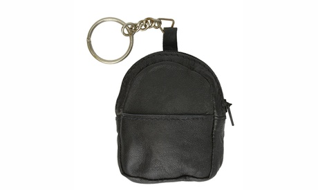 Leather Keychain Change Purses (Goods Women's Fashion Accessories Handbags) photo
