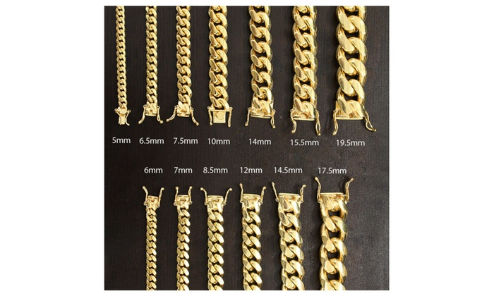 1543eef18a0e6 925 Sterling Silver Solid Miami Cuban Curb Link Chain Bracelet ...