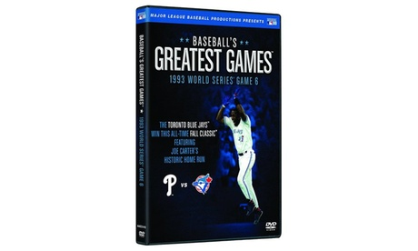 Baseball's Greatest Games: 1993 World Series Game 6 016f298d-8288-4375-b144-f9ef74bd4223