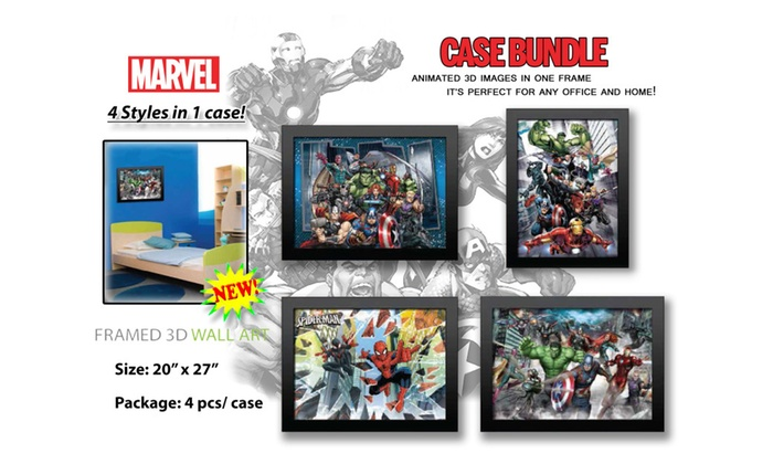 Up To 33% Off on Marvel\'s Avengers Comic Heroe... | Groupon Goods