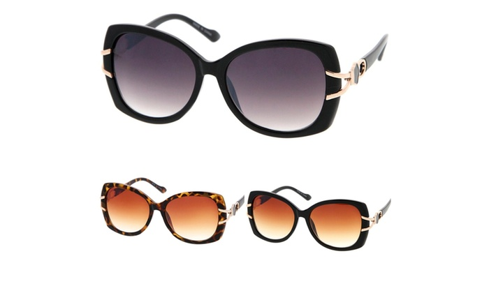 Vintage Fashion Oversize Butterfly Frame Women Sunglasses Model 56
