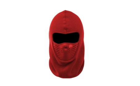 Unique Best Unisex Ninja Style Polar Ski Mask - Red 46971fd5-51ed-41ed-8c2a-e2526d8fdd71