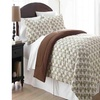 Micro Flannel Printed Twin Comforter With 1 Standard Sham