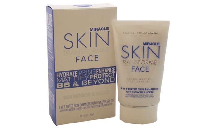 Miracle Skin Transformer for Women Face, SPF 20 Tan, 1.5 oz PRAI AGELESS Eye D-Crease ~ 0.5 oz.