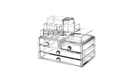 Makeup Organizer/ Makeup Box/ Jewelry & Cosmetic Storage Display Boxes
