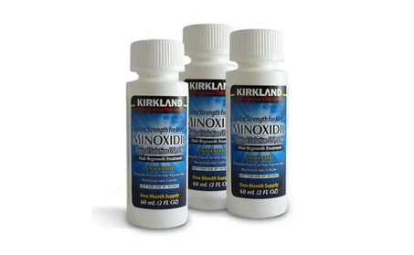 Kirkland Minoxidil 5% Extra Strength Hair Regrowth for Men 7c655cff-a02a-48bf-9408-33787f541b33