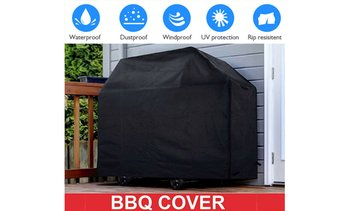 "BBQ Gas Grill Cover 57"" Barbecue Waterproof Outdoor Heavy Duty Protection Large"