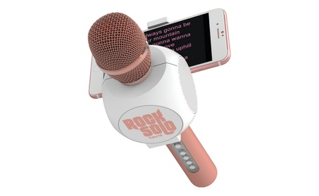 Bluetooth Karaoke Microphone and Speaker With Retractable Phone Holder e4dca52d-3c0f-4756-91c8-fe81a5b7dfad