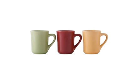 Cranberry Assorted Mugs 4 / Case