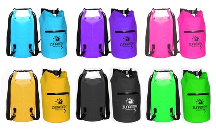 Waterproof Floating Duffel Dry Bag with Shoulder Strap and Zipper