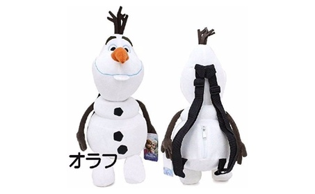 Disney Frozen Olaf Plush Backpack d77c850d-6127-46e1-a0c5-fc5c70350ba5