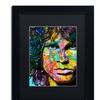 Dean Russo 'Jim' Matted Black Framed Art