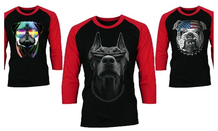 Dog Lover Baseball Raglan Shirts