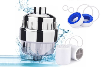 Universal Shower Faucet Water Filter Purifier Removes Chlorine Fluoride 10 Stage
