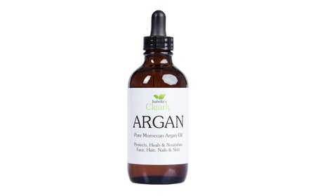 Clearly ARGAN, Pure Moroccan Argan Oil for Face, Hair, and Body. 4 Oz. 3f8b6cd7-814e-4089-b35d-335b2ed5601b
