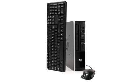 HP 8300 Intel Core i3 3.3GHz 4GB 500GB Windows 10 Pro USFF - Refurbished