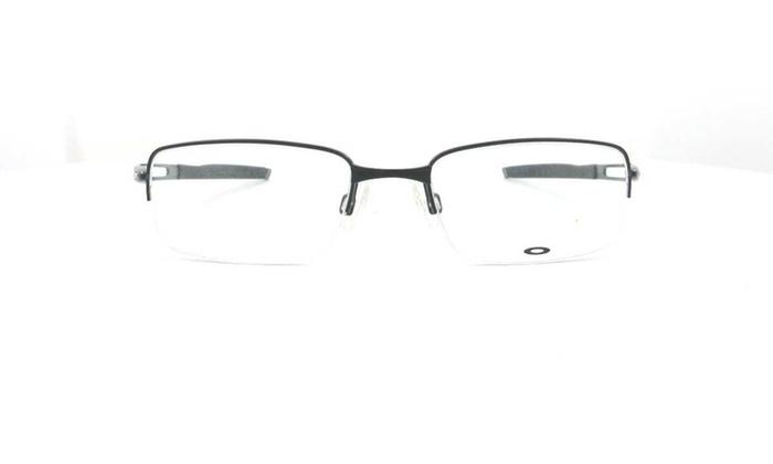 d3fc1d31033 Oakley Frag Rectangular Men Eyeglasses OX5045-01 53 Polished Black ...