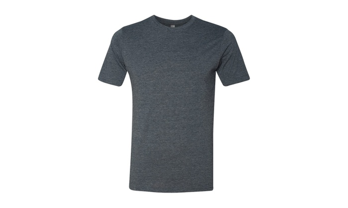 NLA Cotton Poly Crewneck T-Shirt, 6200