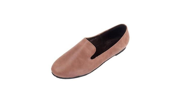 Women's Slip on Round Toe Flats Shoes