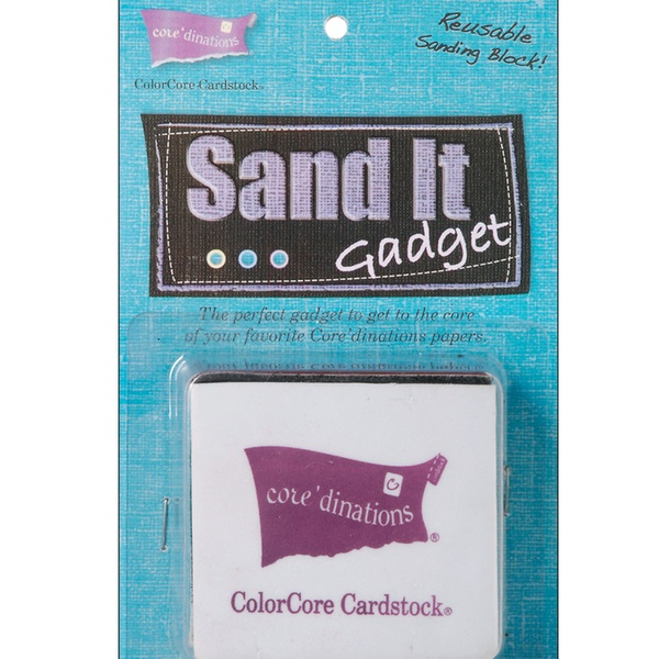 Core/'dinations Sand It Gadget with Sandpaper fnt