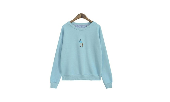 Women's Simple Pullover Graphi...