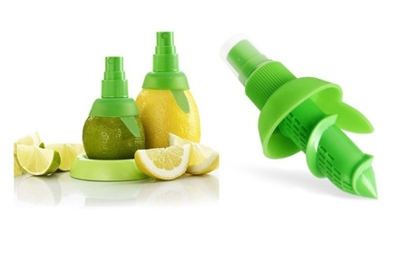 Lime Orange Sprayer Juice Extractor Juicer Fruit Spray Tool 2pcs photo