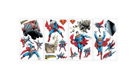 Roommates Decor Superman-Day Of Doom Peel And Stick Wall Decals 9429b109-35ad-4549-a9fd-8d0da8e44c35