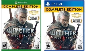 The Witcher 3: Wild Hunt Complete Edition for Xbox One or PS4