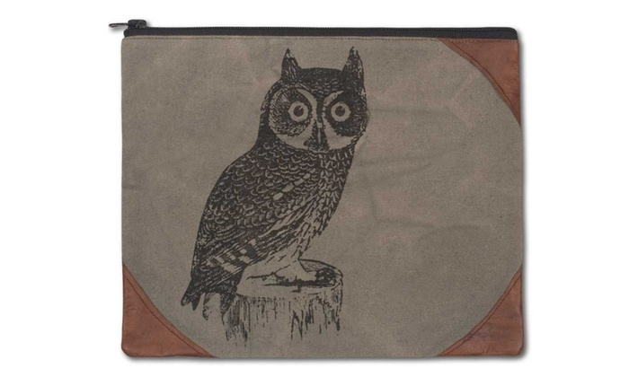 Night Owl Travel Pouch Bag