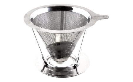 Pour Over Coffee Maker, Dripper Made of Stainless Steel 8d3a9ca2-bb5b-4d85-a36e-4d9e8350b528