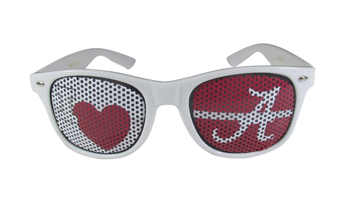 NCAA Sports Team I Heart Game Day Shades