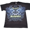 Official Licensed Nfl Seattle Seahawks Face Off T-Shirt Team Apparel