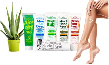 Miracle Skin Repair Aloe Assortment (6-Pack, 12-Pack with Aloe Vera Plant) 010f388e-8015-4191-b630-97f26c46f371