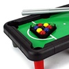 Mini Billiards Novelty Toy Billiard Pool Table Game w/ Table, Full Set of Balls