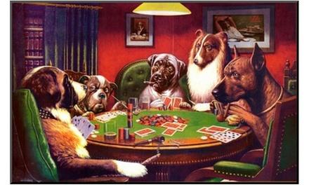 Dogs Playing Poker Groupon