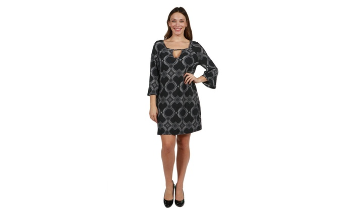 247 Comfort Apparel Haylee Plus Size Luxury Sweater Knit Dress