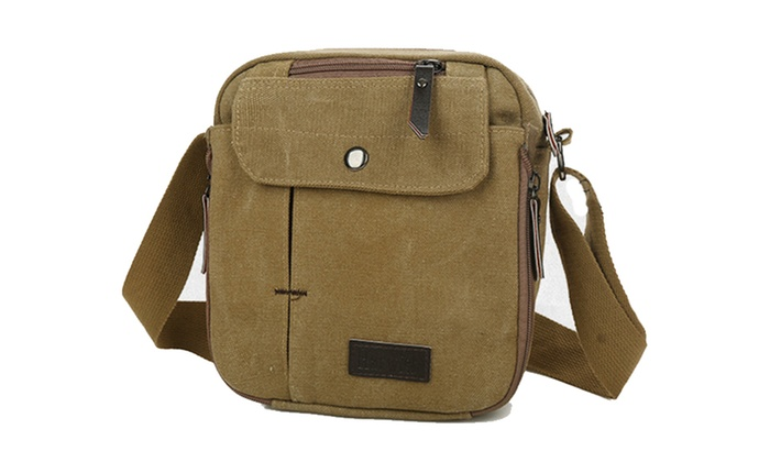 653b85e9387f Men Canvas Bag Casual Travel Men s Crossbody Bag Men Messenger Bags